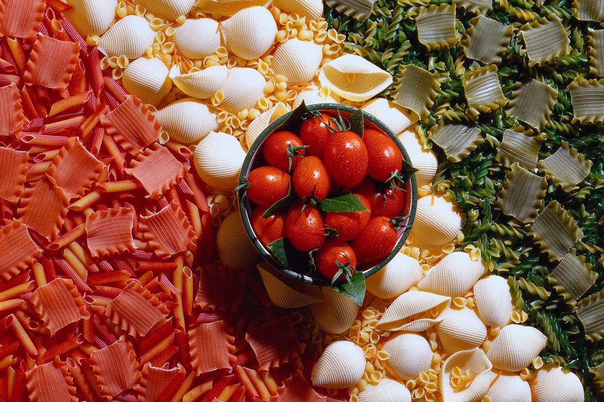 The colors and flavors of Italy. --- Image by © Royalty-Free/Corbis